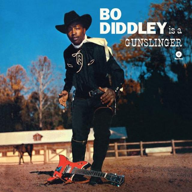 Bo Diddley IS A GUNSLINGER Vinyl Record - Spain Release
