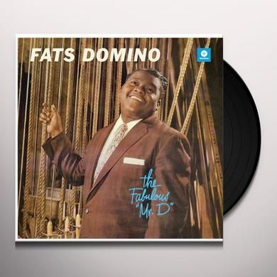 Fats Domino FABULOUS MR. D Vinyl Record - Spain Release