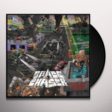 Space Chaser WATCH THE SKIES Vinyl Record