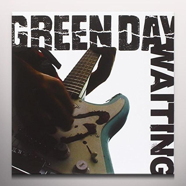 Green Day WAITING Vinyl Record - Blue Vinyl, Limited Edition