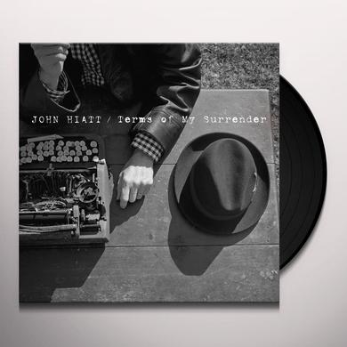 John Hiatt TERMS OF MY SURRENDER Vinyl Record - Digital Download Included