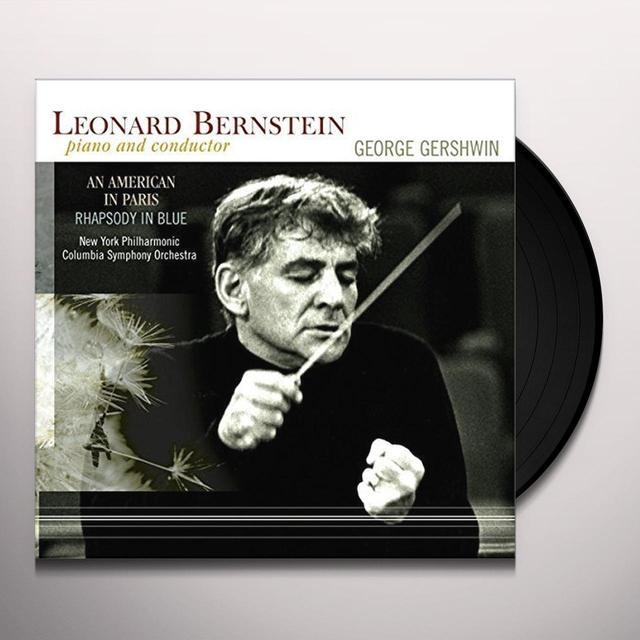 Leonard Bernstein AMERICAN IN PARIS / RHAPSODY IN BLUE Vinyl Record - Holland Import
