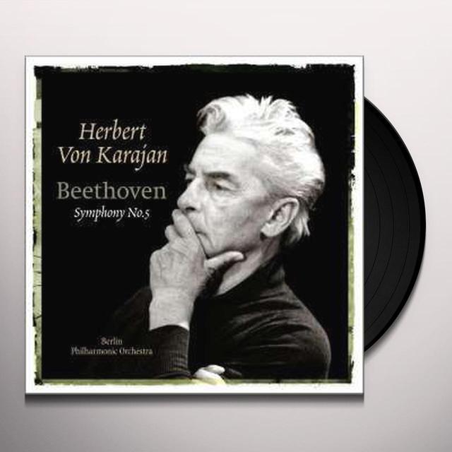 Herbert Von Karajan BEETHOVEN-SYMPHONY NO. 5 Vinyl Record - Holland Import