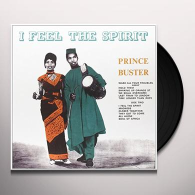 Prince Buster I FEEL THE SPIRIT Vinyl Record - Italy Import