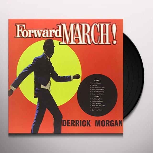 Derrick Morgan FORWARD MARCH Vinyl Record - Italy Import
