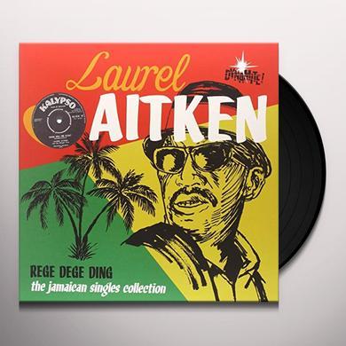 Laurel Aitken REGE DEGE DING Vinyl Record - Italy Import