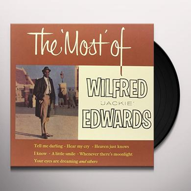 Jackie Edwards MOST OF Vinyl Record