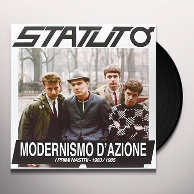 Statuto MODERNISMO D'AZIONE: I PRIMI NASTRI 1983-85 Vinyl Record - Italy Import