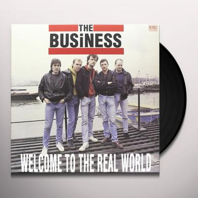 The Business WELCOME TO THE REAL WORLD Vinyl Record - Italy Import
