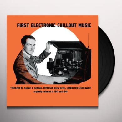 S.J. Hoffman FIRST ELECTRONIC CHILLOUT MUSIC Vinyl Record