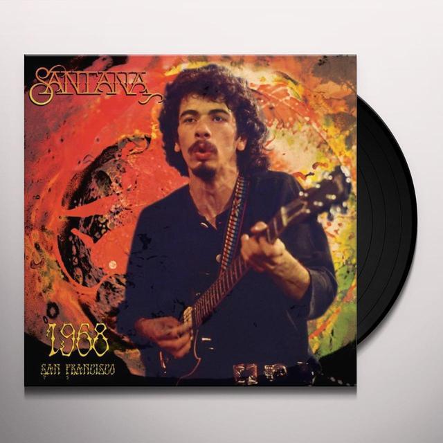Santana 1968 SAN FRANCISCO Vinyl Record