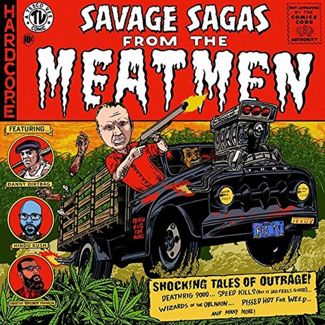 SAVAGE SAGAS FROM THE MEATMEN Vinyl Record - Deluxe Edition