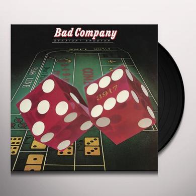 Bad Company STRAIGHT SHOOTER Vinyl Record
