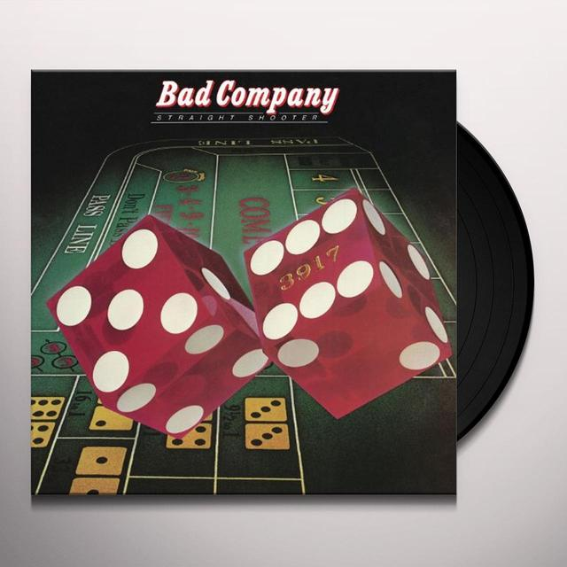 Bad Company STRAIGHT SHOOTER Vinyl Record