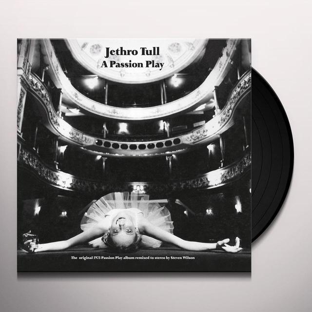 Jethro Tull PASSION PLAY Vinyl Record - 180 Gram Pressing