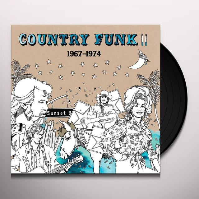 Country Funk 2: 1967-1974 / Var (Rmst) COUNTRY FUNK 2: 1967-1974 / VAR Vinyl Record - Remastered