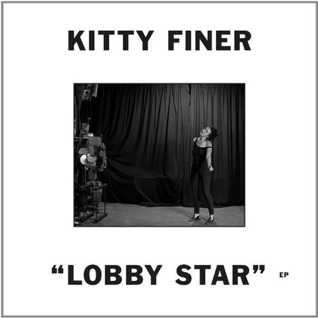 Kitty Finer LOBBY STAR (EP) Vinyl Record