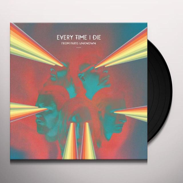 Every Time I Die FROM PARTS UNKNOWN Vinyl Record