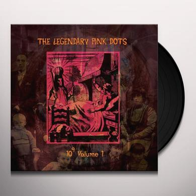 The Legendary Pink Dots 10 TO THE POWER OF 9 1 Vinyl Record - Limited Edition