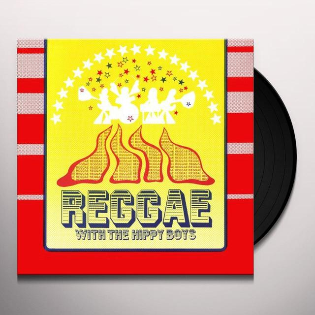 REGGAE WITH THE HIPPY BOYS Vinyl Record
