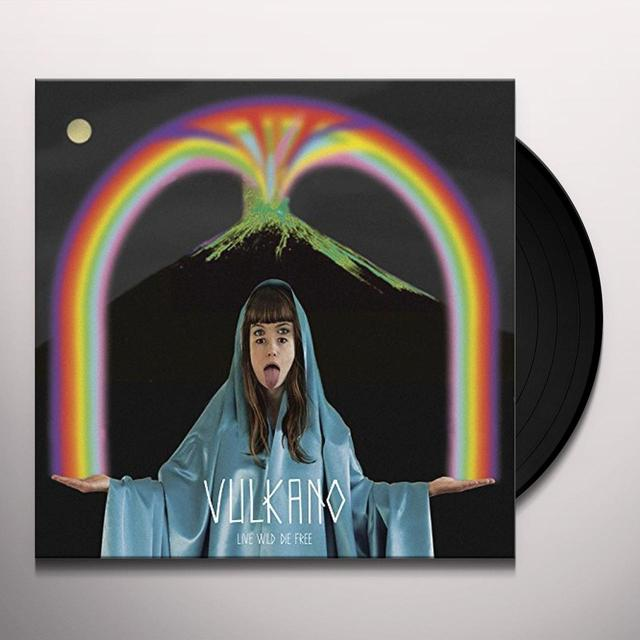 Vulkano LIVE WILD DIE FREE Vinyl Record