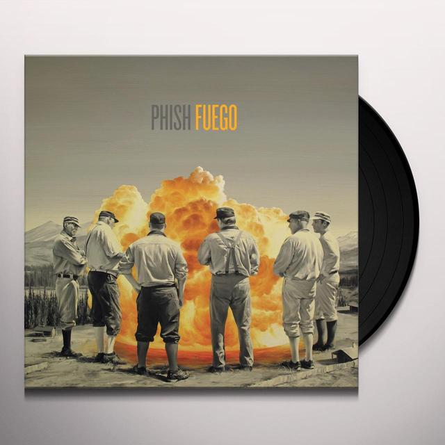 Phish FUEGO Vinyl Record