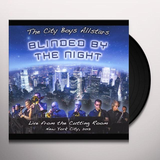 The City Boys Allstars BLINDED BY THE NIGHT Vinyl Record