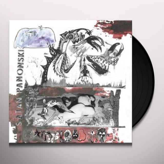 Satan Panonski HARD BLOOD SHOCK Vinyl Record