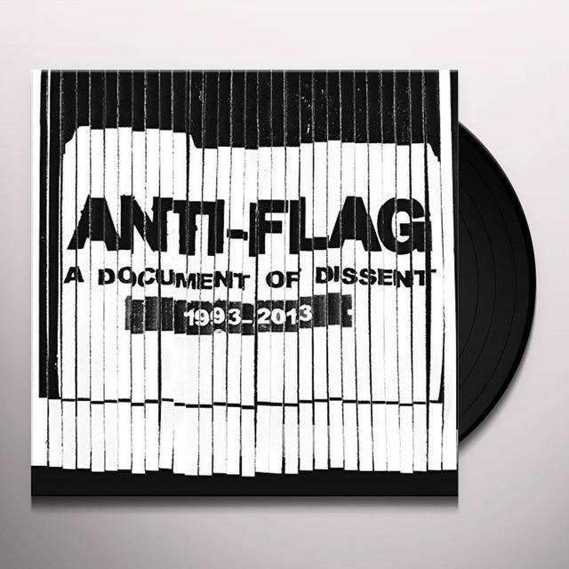 Anti-Flag DOCUMENT OF DISSENT Vinyl Record
