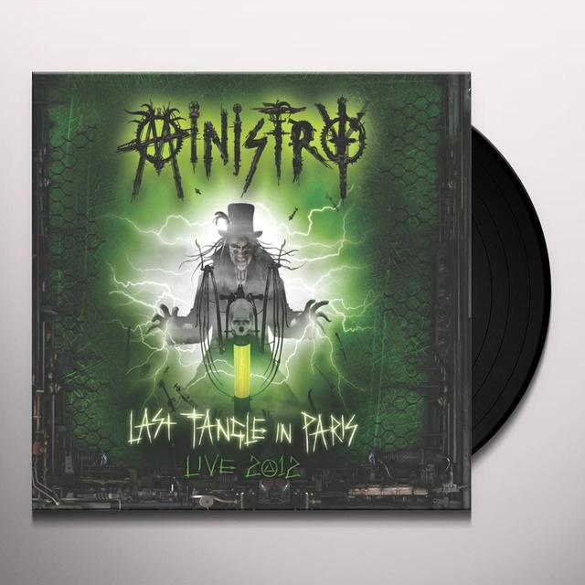 Ministry LAST TANGLE IN PARIS / LIVE 2012 DEFIBRILA TOUR Vinyl Record