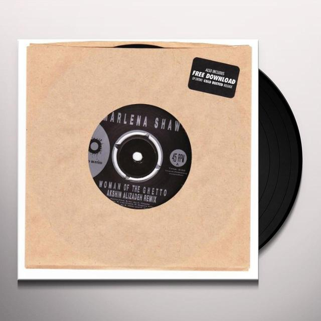 Marlena Shaw WOMAN OF THE GHETTO (AKSHIN ALIZADEH REMIX) Vinyl Record
