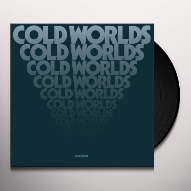 Don Harper COLD WORLDS Vinyl Record - Gatefold Sleeve