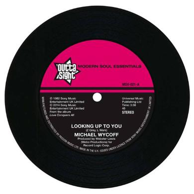 Michael Wycoff LOOKING UP TO YOU/TELL ME LOVE Vinyl Record