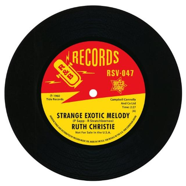 Ruth Christie STRANGE EXOTIC MELODY/THIS MUST BE LOVE Vinyl Record - UK Import