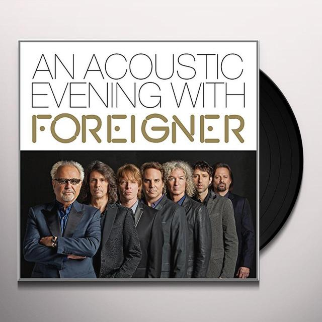 ACOUSTIC EVENING WITH FOREIGNER Vinyl Record - UK Import