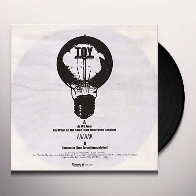 Toy AS WE TURN Vinyl Record - UK Import