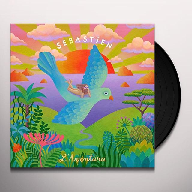 Sébastien Tellier LAVENETURA Vinyl Record - UK Import