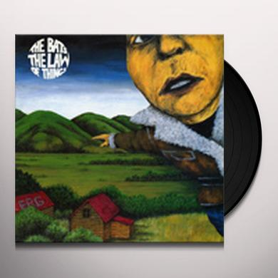 The Bats LAW OF THINGS Vinyl Record - Canada Release