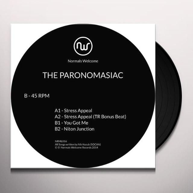 Paronomasiac STRESS APPEAL Vinyl Record - Canada Import