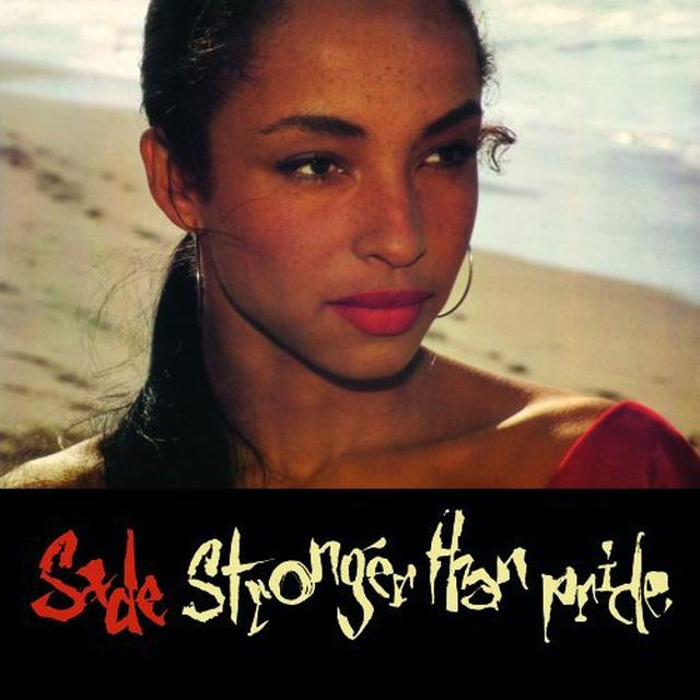 Sade STRONGER THAN PRIDE Vinyl Record - Holland Import