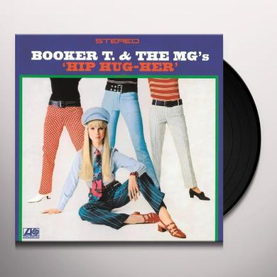 Booker T. & the M.G.'s HIP HUG-HER Vinyl Record - Holland Import