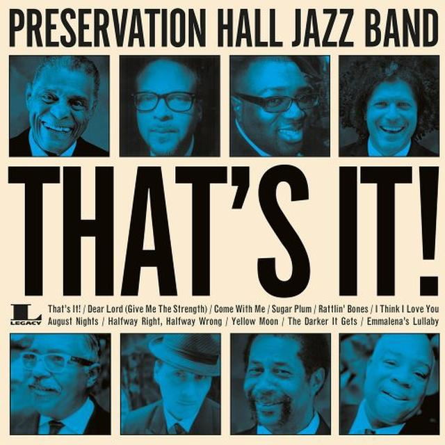 Preservation Hall Jazz Band THAT'S IT! Vinyl Record - Holland Import