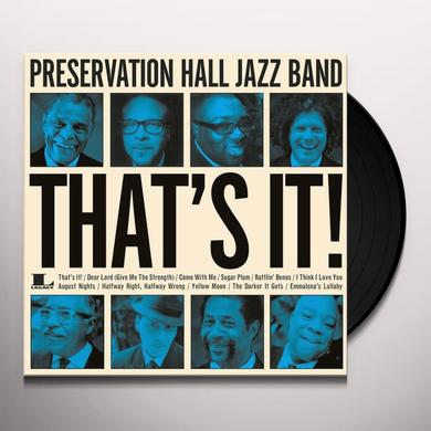 Preservation Hall Jazz Band THAT'S IT! Vinyl Record