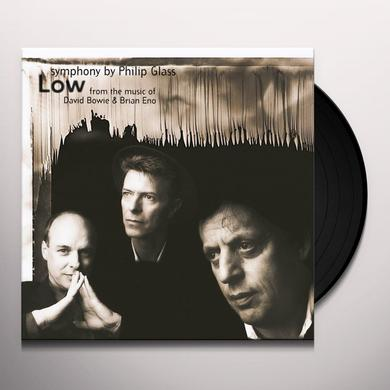Philip Glass LOW SYMPHONY Vinyl Record - Holland Import