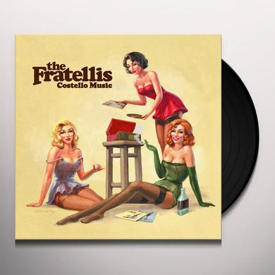 The Fratellis COSTELLO MUSIC Vinyl Record