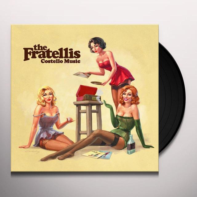 The Fratellis COSTELLO MUSIC Vinyl Record - Holland Import