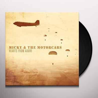Micky & Motorcars HEARTS FROM ABOVE Vinyl Record