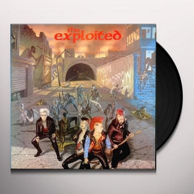 The Exploited TROOPS OF TOMORROW Vinyl Record - Limited Edition
