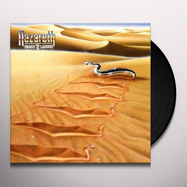 Nazareth SNAKES N LADDERS Vinyl Record - Limited Edition