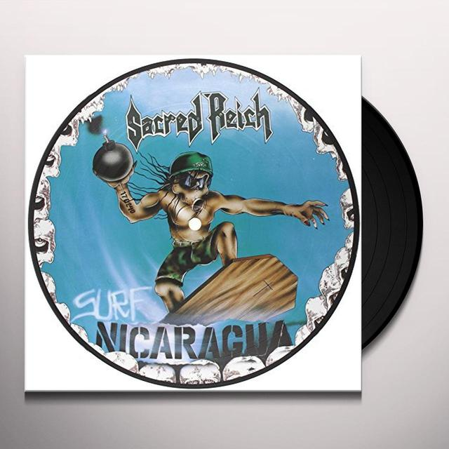 Sacred Reich SURF NICARAGUA-PICTURE (GER) Vinyl Record